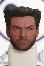 Custom 1/6 Hugh Jackman Wolverine Head Sculpt X-Men Days of Future For 12'' Body