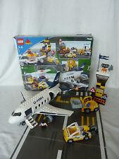 LEGO Duplo großer Flughafen - Jumbo Jet - Landebahn - Set 7840 - komplett + Ovp!