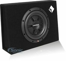 "Rockford Fosgate R2S-1X10 400W Single 10"" R2SD4 Prime Subwoofer Loaded Enclosure"