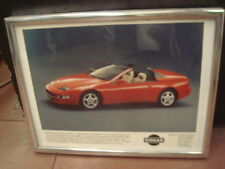 "1993 NISSAN 300ZX ""Z"" CONVERTIBLE DEALERSHIP PROTOTYPE ORIGINAL PRINT PICTURE"