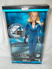 Marvel 2005 Fantastic 4 Invisible Woman Barbie #J0869.