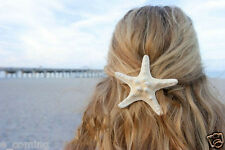 Fashion Women Lady Girls Pretty Natural Starfish Star Beige Hair Clip S H1