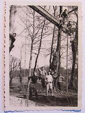 02D7 PHOTO FRANCE 1940 SOLDATS POILU 107 e R.I DÉFENSE ALSACE PRES DURRENENTZEN
