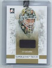 07/08 ITG Superlative Patch J-S Giguere Silver 1 of 30