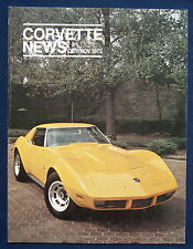 Prospekt brochure Corvette News Oct / Nov 1972 (USA)
