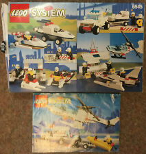 Lego City Town Police Set No 6545 Search N' Rescue - INCOMPLETE