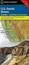 National Geographic Guide Map: National Geographic U. S. Scenic Drives (2014)