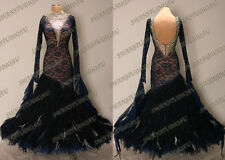 BALLROOM .STANDARD. SMOOTH DANCE COMPETITION DRESS SIZE S M L WB3256