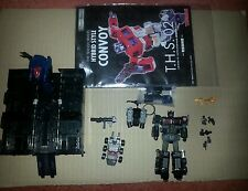 TRANSFORMERS HYBRID THS 02 BLACK OPTIMUS PRIME NOT REISSUE RARE