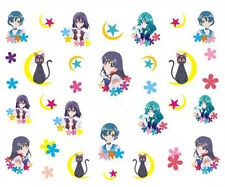 30 Sailor Moon Water Transfer Nail Art Sticker Decals for Nail Polish Manicure