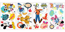 Disney MICKEY MOUSE Minnie Wall Stickers 27 decals Clubhouse Pluto scrapbook