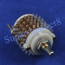 4P 24Step Rotary switch Attenuator Volume Control DIY