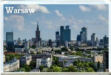 WARSAW POLAND FRIDGE MAGNET