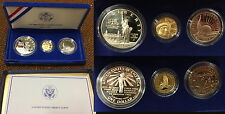 1986 3 coin Proof Statue of Liberty Set W/ Coa Flawless Coins Fresh Packages