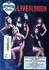 PUSSYCAT DOLLS - LIVE FROM LONDON - A&M DVD - STILL SEALED