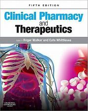 Clinical Pharmacy and Therapeutics 5th Int'l Edition