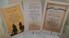 50 WESTERN COWBOY 2 TRAILS ONE ROAD INVITATIONS MANY DESIGNS PERSONALIZED 4 YOU