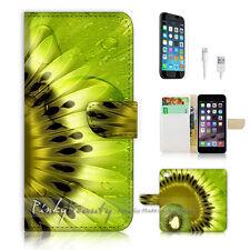 iPhone 6 / 6S (4.7') Flip Wallet Case Cover! P0503 Kiwi Fruit