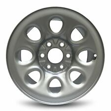 New 17x7.5 Inch 6 Lug 8 Hole 2005-2013 Chevrolet Silverado 1500 Steel Wheel/Rim