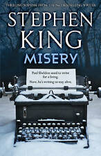 Misery by Stephen King Horror Story Book As New Cond (Paperback, 2011)