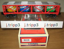 LIONEL 6-82741 CHRISTMAS TINSEL VAT CAR TOY TRAIN O GAUGE HOLIDAY FREIGHT 2015