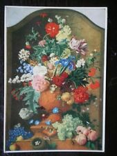 POSTCARD FLOWERS - JAN VAN HUYSUM  - MEDICI SOC