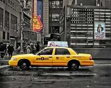 New York 7th Ave Taxi Travel Poster 16x20 Poster Service