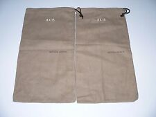 New 2 BOTTEGA VENETA  8 X 15 dust bags sleeper shoes storage travel duster pair