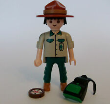 Playmobil Series 9 Canadian Forest Ranger Figure