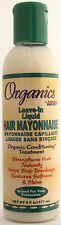 ORGANICS BY AFRICA'S BEST LEAVE-IN LIQUID MAYO HAIR MAYONNAISE TREATMENT 6 OZ.