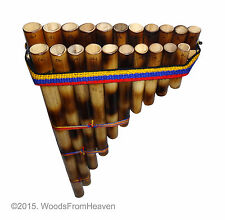 new Sampona beginners Pan Flute 21 reed canes two rows easy to learn to play