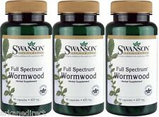 270 x Wormwood, Strong 425mg Dose, 270 CAPSULES, Artemisia Annua, Sweet Annie