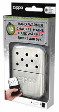 Zippo Scaldamani Handwarmer CHROME REGULAR 12 Ore da Tasca in Metallo