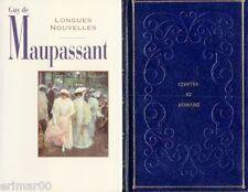 Longues Nouvelles / MAUPASSANT // 15 Nouvelles // Collection Contes et Romans