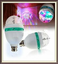 Diwali Colourful Magic DJ Laser Light Lighting Disco Party Bulb 360 Rotate 3W