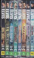 ELVIS PRESLEY - 8 MOVIE PACK - 8 DVD's - BOXED SET