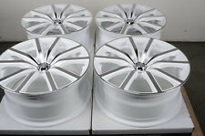 18 5x112 Wheels White Fits Audi A4 A6 A8 S4 Clk Volkswagen Mercedes Benz Rims