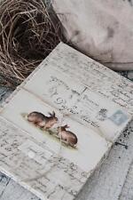 Jeanne d`arc living Note book Notizbuch  shabby chic kleines schwedenhaus Buch