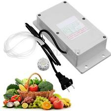 AC220V Ozone Generator + Pipe For Air Food Vegetable Water Aquarium Cleaning