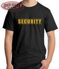 SECURITY Guard T-SHIRT Tee ~ Security Patrol ~ Event Concert Club Front & Back