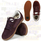 DC SHOES MENS LANDAU S BROWN GUM SNEAKERS SKATE SKATER