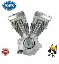 "S&S V80 LONG BLOCK ENGINE 80"" MOTOR FOR 1984-99 HARLEY EVO 310-0232"