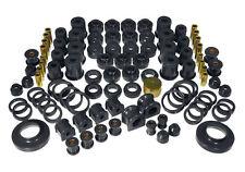 Prothane 97-06 Jeep Wrangler TJ TOTAL Complete Suspension Bushing Kit (BLACK)