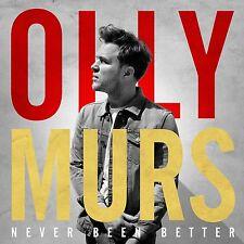 OLLY MURS - NEVER BEEN BETTER  CD NEU