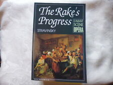 STRAVINSKY	 / L'AVANT-SCENE OPERA N°145. THE RAKE'S PROGRESS.