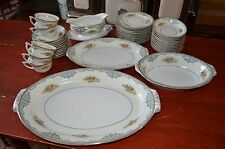 42 PC. NARUMI CHINA-DUCHESS-OCCUPIED JAPAN-SERVING PLATTERS BOWLS VEGES PLATES