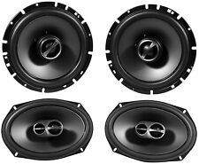"2) Alpine SPS-619 6x9 3 Way Coaxial Car Speakers+2) Alpine SPS-610 6.5"" Speakers"