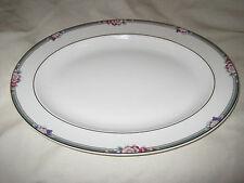"Royal Doulton Orchard Hill 13-1/2"" Oval Platter Fine Bone China H5233 England"