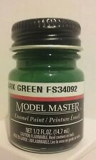 Testors Model Master Enamel paint 1764, Euro Dark Green. 1/2fl.oz.(14.7ml.)