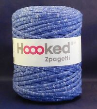 Hoooked Zpagetti Recycled T-shirt Jersey Yarn 120m Crochet Knitting Winter Blue